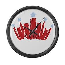 Royal Baby Large Wall Clock