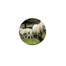 Mini Pony Mini Button