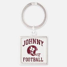 Johnny Football Square Keychain