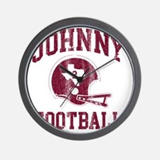 Johnny Football Wall Clock