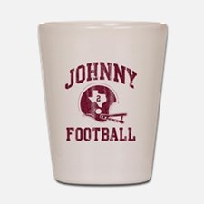 Johnny Football Shot Glass
