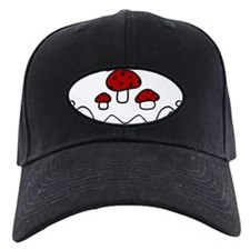 Red Mushrooms Baseball Hat