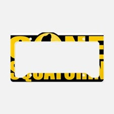 gs License Plate Holder