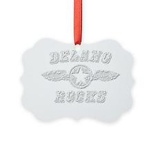 DELANO ROCKS Picture Ornament