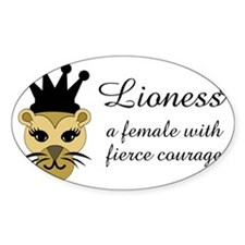 Lioness Decal