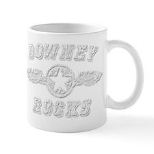 DOWNEY ROCKS Mug