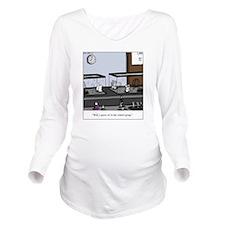Control Group Mice Long Sleeve Maternity T-Shirt