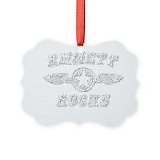 EMMETT ROCKS Ornament