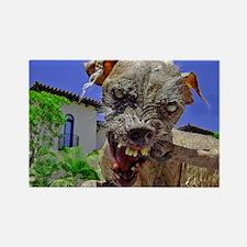 UGLIEST DOG Rectangle Magnet