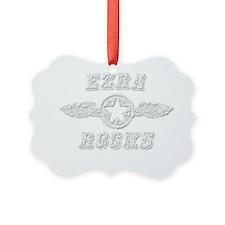 EZRA ROCKS Ornament