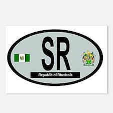 Car code - Rhodesia Postcards (Package of 8)