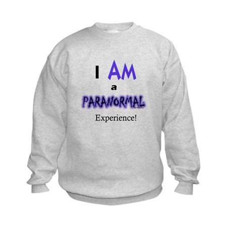 I Am A Paranormal Experience- Kids Sweatshirt