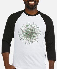 Yeast protein interaction map Baseball Jersey
