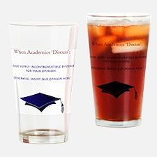 AcademiaTshirt Drinking Glass