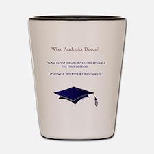 AcademiaTshirt Shot Glass