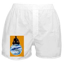 Yoga meditation Boxer Shorts