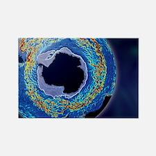 Antarctic ocean current, computer Rectangle Magnet