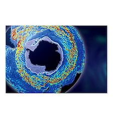 Antarctic ocean current,  Postcards (Package of 8)