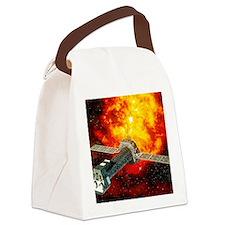 XMM-Newton telescope Canvas Lunch Bag