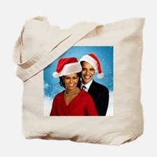 Obama Christmas Tote Bag