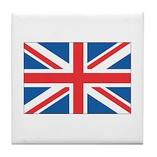u.k flag Tile Coaster