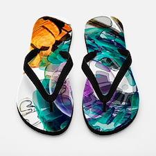 Animal cell, artwork Flip Flops