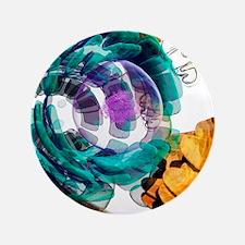 """Animal cell, artwork 3.5"""" Button"""