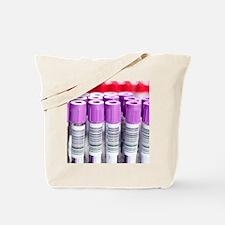 Blood samples Tote Bag