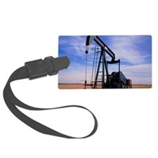 A jack pump used for oil extract Luggage Tag
