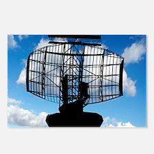 Air traffic control radar Postcards (Package of 8)