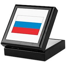 Russian flag Keepsake Box