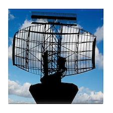 Air traffic control radar Tile Coaster