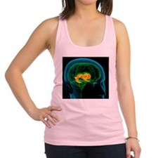 Cingulate gyrus in the brain, a Racerback Tank Top