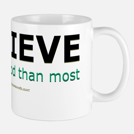One Fewer God lightapparel Mug