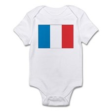 French flag  Infant Bodysuit
