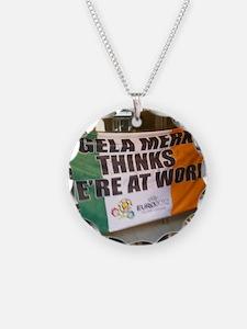 Irish soccer merchandise Necklace