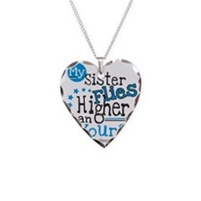 sister flies Necklace