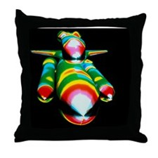 Airflow over the Space Shuttle during Throw Pillow