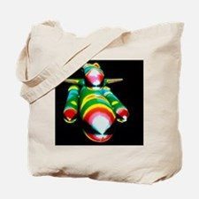 Airflow over the Space Shuttle during asc Tote Bag