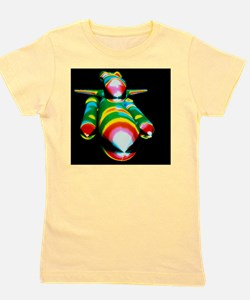 Airflow over the Space Shuttle during a Girl's Tee