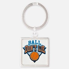 Ball Dont Lie Square Keychain