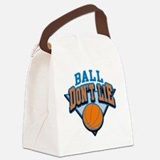 Ball Dont Lie Canvas Lunch Bag