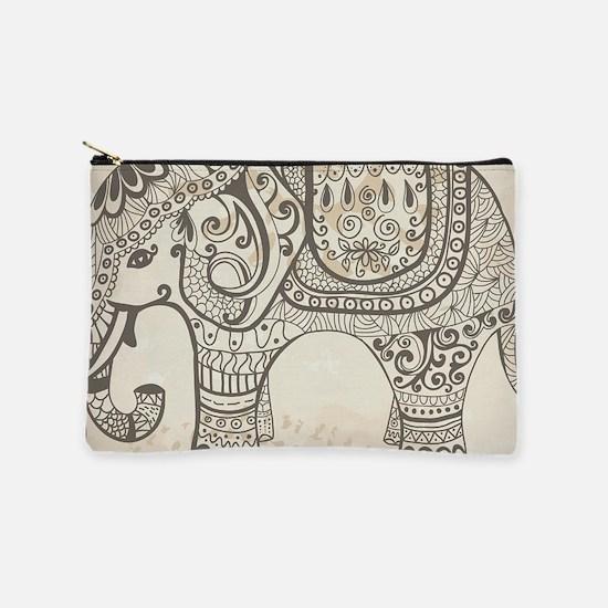 Vintage Elephant Makeup Pouch