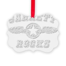 GARRETT ROCKS Ornament