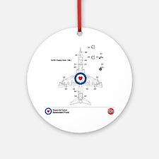 Hawk T MK1 Round Ornament