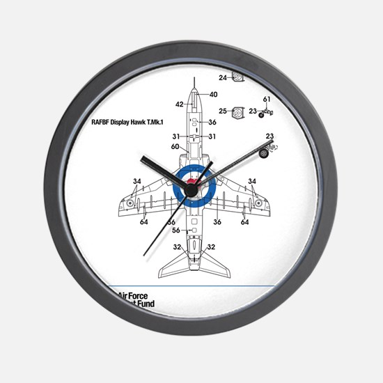 Hawk T MK1 Wall Clock
