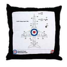 Hawk T MK1 Throw Pillow