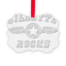 GILLETTE ROCKS Ornament