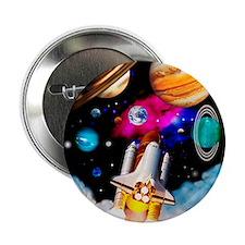 "Art of space shuttle exploration 2.25"" Button"