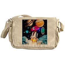 Art of space shuttle exploration Messenger Bag